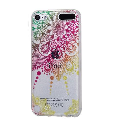 чехол для Apple ipod touch5 / 6 чехол для случая с высоким проникающим порошком imd mandala soft tpu phone case стоимость