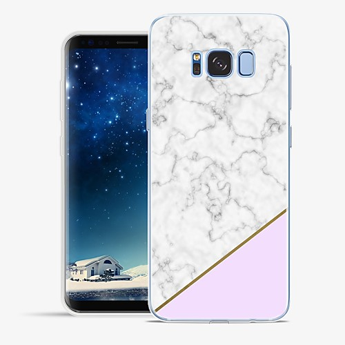 Case For Samsung Galaxy S8 Plus / S8 Pattern Back Cover Marble Soft TPU for S8 Plus / S8 / S7 edge