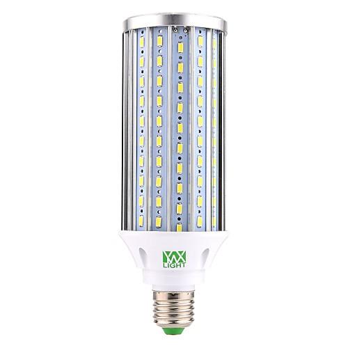 YWXLIGHT 1шт 60W 5900-6000lm E26 / E27 LED лампы типа Корн T 160 Светодиодные бусины SMD 5730 Декоративная Светодиодная лампа Холодный