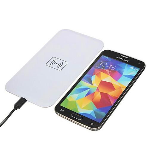 Беспроводное зарядное устройство Зарядное устройство USB Универсальный Беспроводное зарядное устройство / Qi 1 USB порт 1 A iPhone 8 sunshar spt4 беспроводное индуктивное зарядное устройство для iphone 6 plus samsung s7 edge lg sony google nexus nokia htc qi стандарт