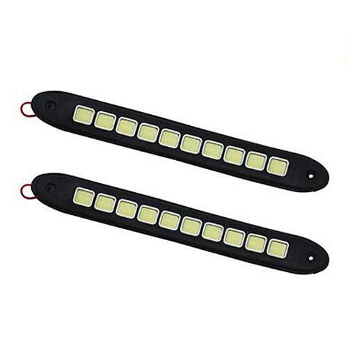 2pcs Автомобиль Лампы 10W COB 1 Фары дневного света For Универсальный Все года цена