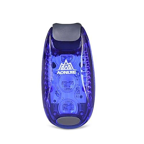 Задняя подсветка на велосипед / огни безопасности / задние фонари Светодиодная лампа Велоспорт Простой, От дождя, LED освещение 3 lm 3V Тёплый белый