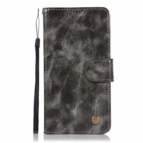 Кейс для Назначение LG LG K10 StyLo 3 Q6 Plus Бумажник для карт Кошелек со стендом Флип Чехол Сплошной цвет Твердый Кожа PU для LG X пылесос с контейнером для пыли lg vc53001kntc
