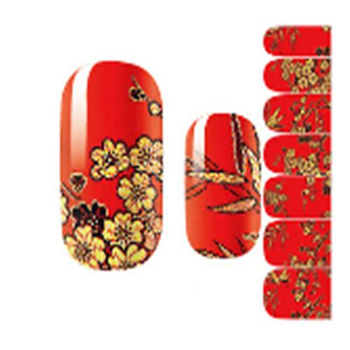1 pcs Наклейки для ногтей Наклейка для ногтей Дизайн ногтей
