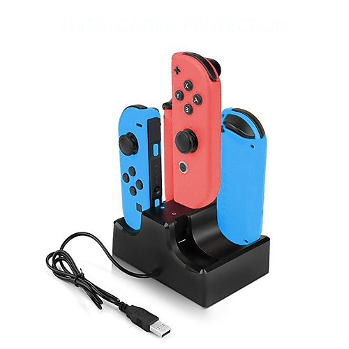 switch Type-C Батареи и зарядные устройства Назначение Nintendo Переключатель Батареи и зарядные устройства Стенд с адаптером Быстрая