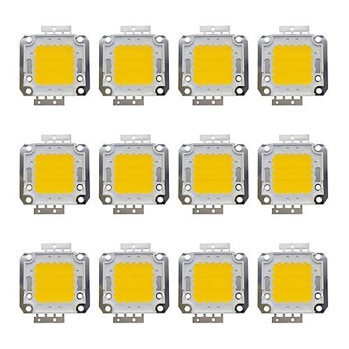 12шт 1600 lm Аксессуары для ламп Латунь LED чип 20 W
