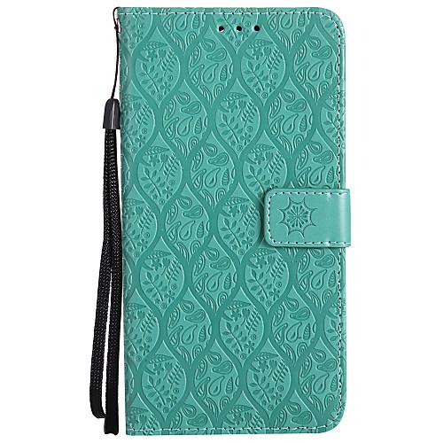 Кейс для Назначение Huawei Huawei 8 Huawei 7 10 pro 10 lite Бумажник для карт Кошелек со стендом Рельефный Чехол