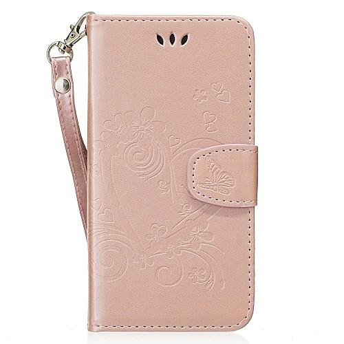 Кейс для Назначение Huawei Honor 8 Бумажник для карт со стендом Флип С узором Рельефный Чехол С сердцем Твердый Кожа PU для Honor 8 чехол для сотового телефона honor 5x smart cover grey