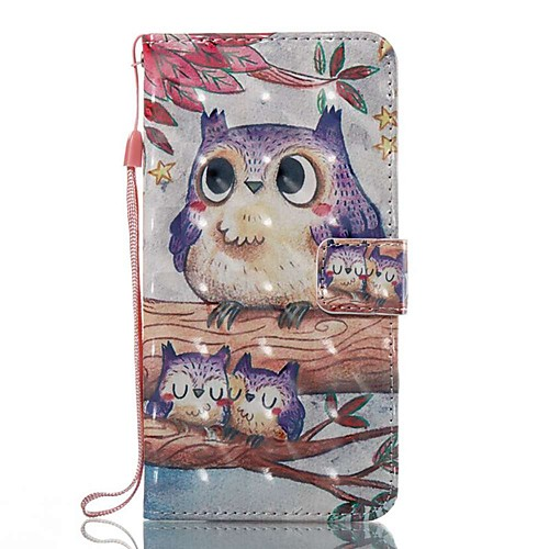 Case For Samsung Galaxy J5 (2017) / J3 (2017) Wallet / Card Holder / with Stand Full Body Cases Owl Hard PU Leather for J7 (2017) / J7 (2016) / J5 (2017)