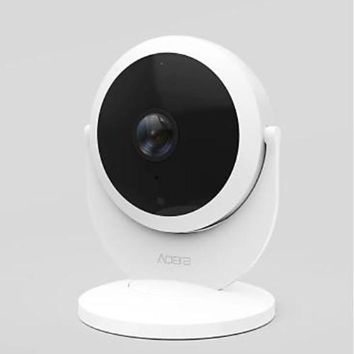 xiaomi mijia aqara ip camera 1080p 2.0 mp закрытый с штрих-кодом 128 (дневной ночной режим обнаружения движения)