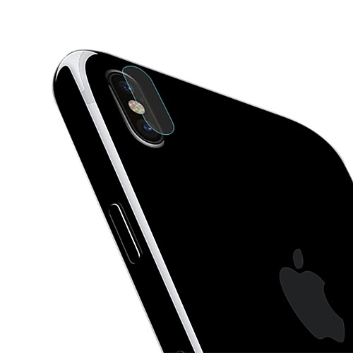 AppleScreen ProtectoriPhone X High Definition (HD) Back Protector 1 pc Tempered Glass