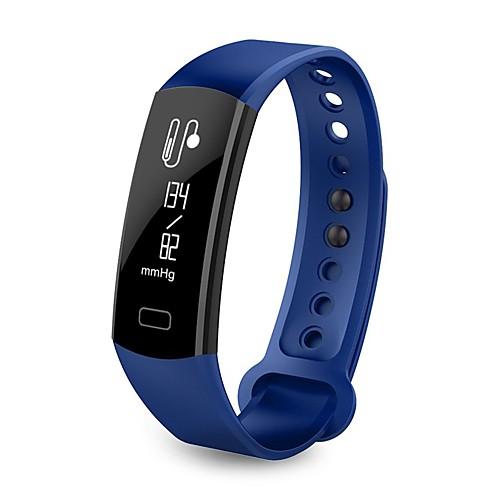 Смарт Часы Bluetooth Израсходовано калорий Педометры Сенсорный датчик Контроль APP Импульсный трекер Педометр Датчик для отслеживания