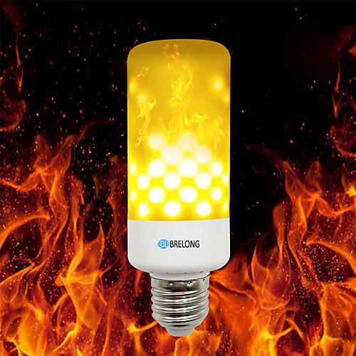 BRELONG 1шт 4W 700lm E14 E27 E12 B22 LED лампы типа Корн 99 Светодиодные бусины SMD 2835 Тёплый белый 85-265V