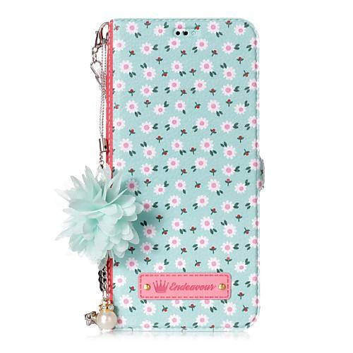 Кейс для Назначение SSamsung Galaxy S8 Plus S8 Бумажник для карт со стендом Флип С узором Своими руками Плитка Цветы Твердый для плитка для ванны цветы воронеж