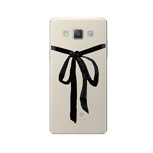 все цены на Кейс для Назначение SSamsung Galaxy A7(2017) A7(2016) С узором Кейс на заднюю панель Полосы / волосы Мультипликация Мягкий ТПУ для A3
