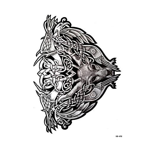 1 pcs Временные тату Временные татуировки Тату с животными Искусство тела рука / плечо