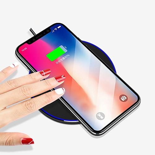 Беспроводное зарядное устройство Зарядное устройство USB USB Беспроводное зарядное устройство / Qi 1 USB порт 1 A iPhone 8 Pluss / iPhone