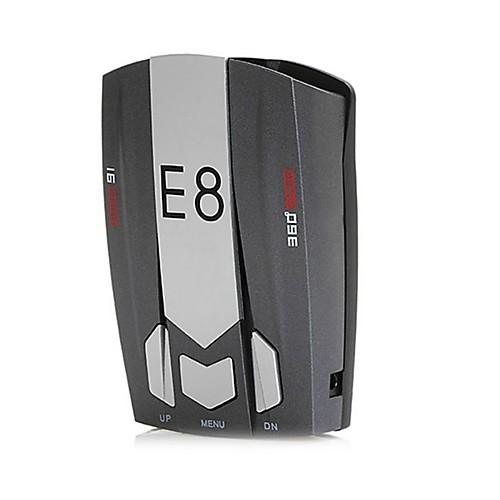 e8 автомобильный радар-детектор 360 градусов 16-полосная скорость безопасности анти-полицейское сканирование расширенное голосовое ги peakmeter ms6310 детектор детектор горючих газов газа