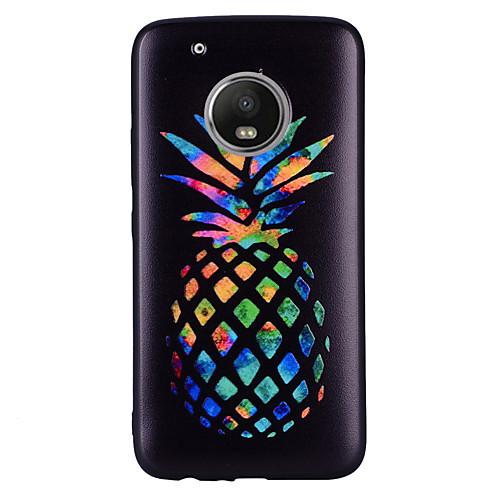 Кейс для Назначение Motorola G5 Plus G5 С узором Кейс на заднюю панель Фрукты Мягкий Силикон для Мото G5 Plus Moto G5 Мото G4 Plus Moto g5 g5 ago g5