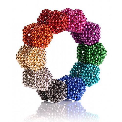 216/512/1000 pcs 5mm Магнитные игрушки Магнитные шарики Конструкторы Сильные магниты из редкоземельных металлов Неодимовый магнит Классический и неустаревающий / Своими руками фото