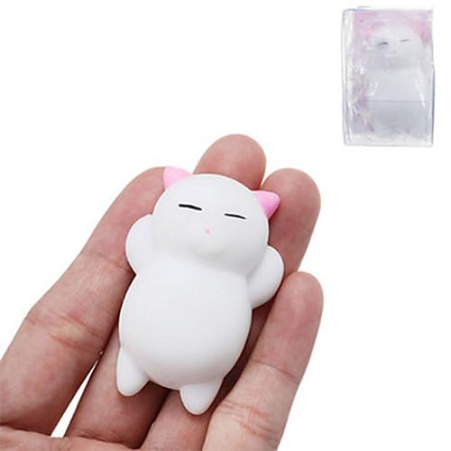 LT.Squishies Резиновые игрушки Кошка / Животный принт Товары для офиса / Стресс и тревога помощи / Декомпрессионные игрушки Мода