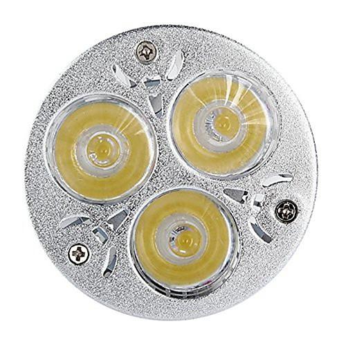 5 шт. 6W 450 lm GU5.3(MR16) Точечное LED освещение MR16 3 светодиоды Высокомощный LED Декоративная Тёплый белый Холодный белый DC 12V от MiniInTheBox.com INT