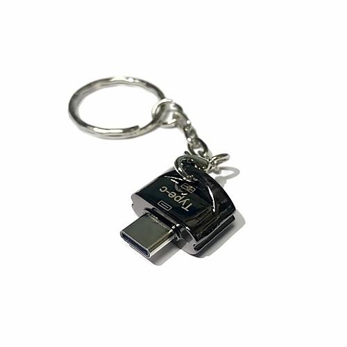 Apacer MicroSD/MicroSDHC/MicroSDXC/TF USB 2.0 Type-C Устройство чтения карт памяти Флэш-накопитель разветвитель для компьютера rombica type c hub tc 00020