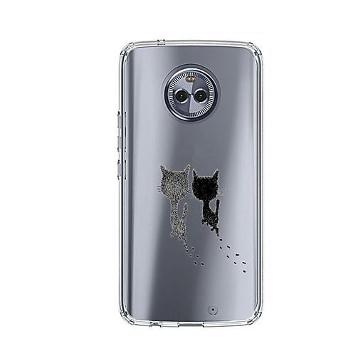 Кейс для Назначение Motorola E4 Plus 5 С узором Кейс на заднюю панель Кот Мягкий ТПУ для Moto X4 Moto E4 Plus Moto E4