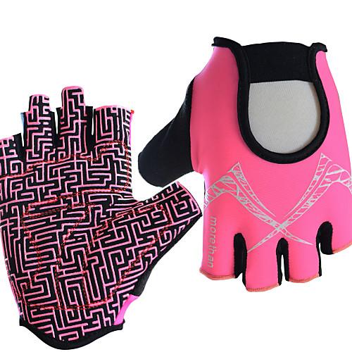 Спортивные перчатки Перчатки для велосипедистов Спортивные перчатки Пригодно для носки Дышащий Анти-шоковая защита Нескользящий Без