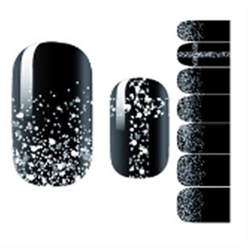 1pcs Наклейка для ногтей Шаблон шаблона для ногтей Дизайн ногтей Наклейки для ногтей