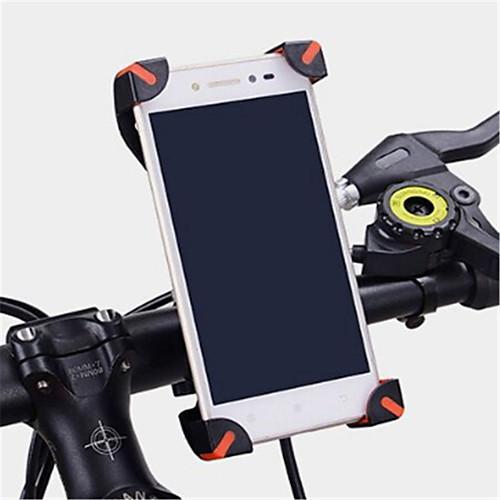 Велоспорт Мобильный телефон Держатель подставки Регулируемая подставка Мобильный телефон Тип пряжки ABS Держатель фото