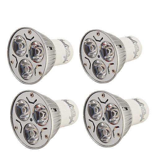 YouOKLight 3 Вт. 200-250 lm GU10 Точечное LED освещение R63 3 светодиоды Высокомощный LED Декоративная Тёплый белый Холодный белый AC