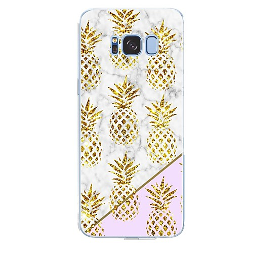 Case For Samsung Galaxy S8 Plus / S8 Pattern Back Cover Fruit / Marble Soft TPU for S8 Plus / S8 / S7 edge