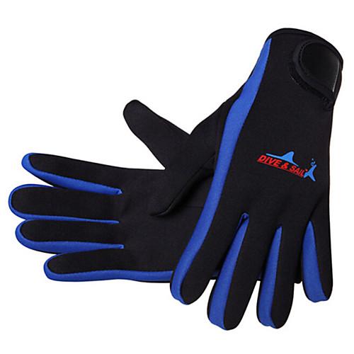 Dive&Sail Дайвинг Перчатки 1,5 мм неопрен Полный палец Анти-скольжение Серфинг / Дайвинг / катание на лодках