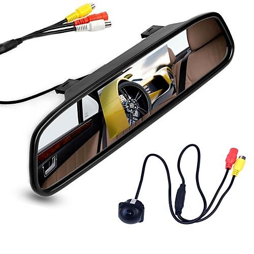 ziqiao 4,3-дюймовый цифровой tft ЖК-монитор зеркала и камеры заднего вида камеры ночного видения