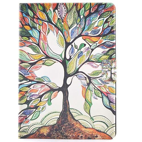 Кейс для Назначение SSamsung Galaxy Tab S2 80 Бумажник для карт со стендом Флип С узором Авто Режим сна  Пробуждение Чехол дерево