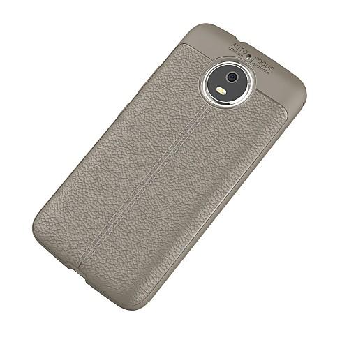 Кейс для Назначение Motorola G5 Plus Ультратонкий Кейс на заднюю панель Однотонный Мягкий ТПУ для Moto G5s Plus / Moto G5s / Мото G5 Plus / Мото G4 Plus фото