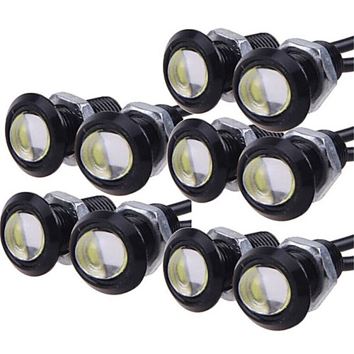 10pcs Light Bulbs 9W High Performance LED 1 Daytime Running Light For universal General Motors All years