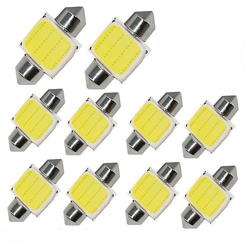 10 шт. Лампы 1W COB 12 Рабочее освещение For Универсальный Дженерал Моторс Все года цена