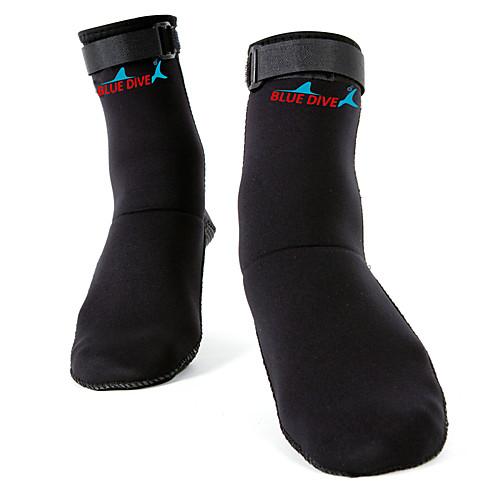 Носки для плавания 3mm Неопрен для Взрослые - Мощность, Мягкость Дайвинг / Серфинг / Для погружения с трубкой
