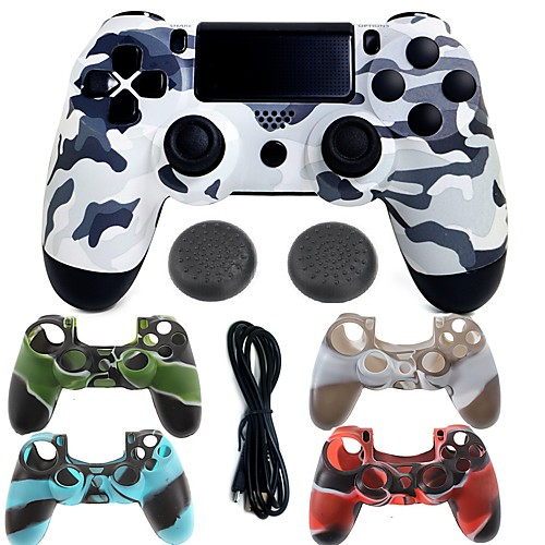 for PS4 Проводное USB Сумки, чехлы и накладки Джойстик - Sony PS4 150 Игровые манипуляторы Вибрация USB 2.0 Проводной > 480