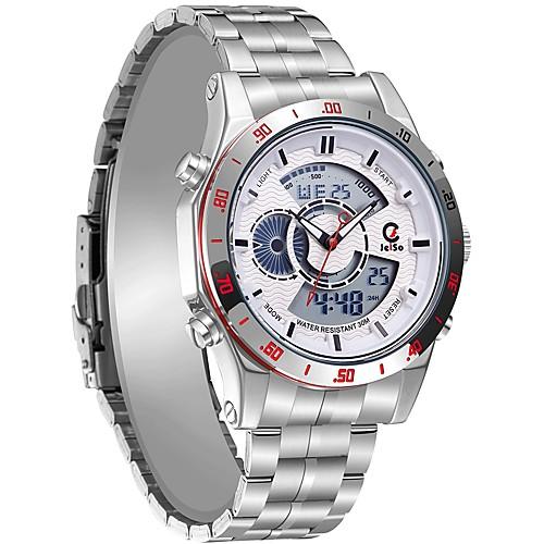 Будильники / Многофункциональные часы / Спортивные часы JEISO-1703 for Другое Показ времени / Многофункциональный / Светодиод ночного