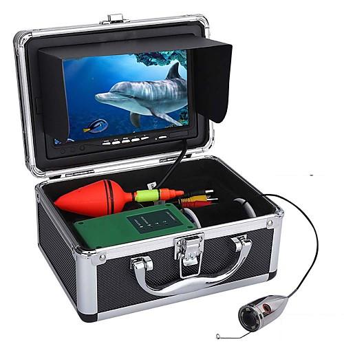 30m 1000tvl подводная рыбалка комплект видеокамеры 6 светодиодных ламп с 7-дюймовым цветным монитором