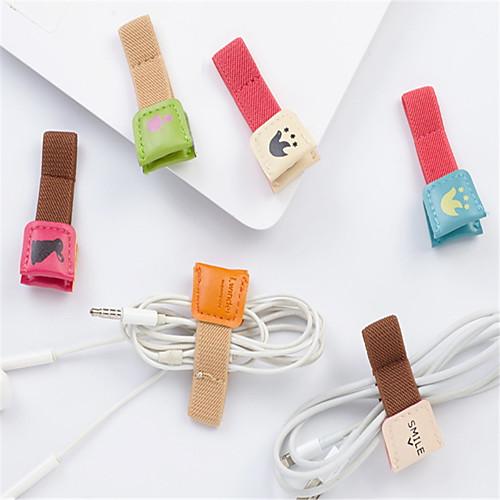 Организация кабелей Кабельный органайзер Настоящая кожа iPhone 8 Plus / 7 Plus / 6S Plus / 6 Plus