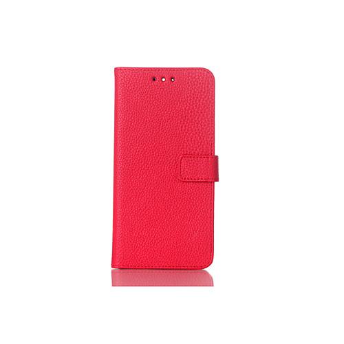 Кейс для Назначение Nokia Lumia 535 со стендом Флип Чехол Сплошной цвет Твердый Кожа PU для Nokia Lumia 925 Nokia Lumia 920 Nokia Lumia