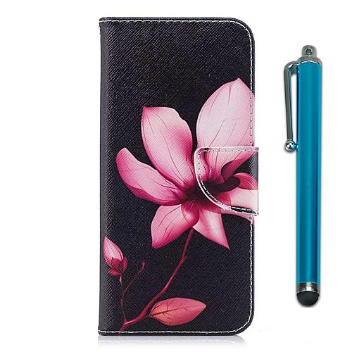 Кейс для Назначение Motorola G5 Plus G5 Бумажник для карт Кошелек со стендом Флип Магнитный Чехол Цветы Твердый Кожа PU для Moto G5s Мото