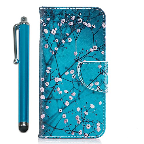 Case For Samsung Galaxy A8 2018 / A5(2017) Wallet / Card Holder / with Stand Full Body Cases Tree / Flower Hard PU Leather for A3(2017) / A5(2017) / A7(2017)