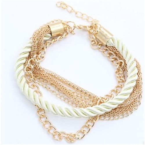 Women's Wrap Bracelet Bracelet Ladies Fashion Bracelet Jewelry Red / Green / Blue For Daily
