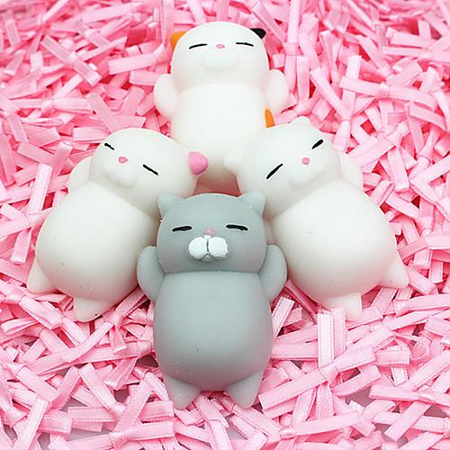 LT.Squishies Резиновые игрушки Кошка / Животный принт Животный принт Товары для офиса / Стресс и тревога помощи / Декомпрессионные игрушки