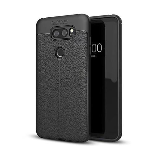 Кейс для Назначение LG V30 Q6 Защита от удара Кейс на заднюю панель Сплошной цвет Мягкий ТПУ для LG V30 LG V30 LG Q6 LG G6 плед сruise welcom